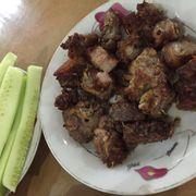 Thịt lợn Mán nướng