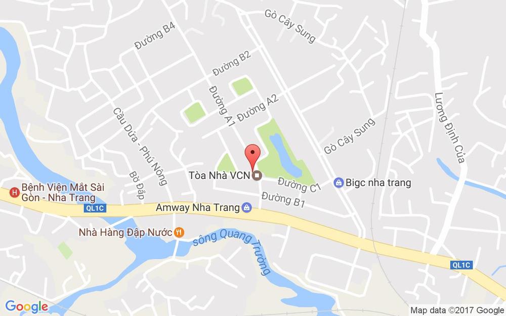 Vị trí bản đồ 107E Đường A1 Tp. Nha Trang Khánh Hoà