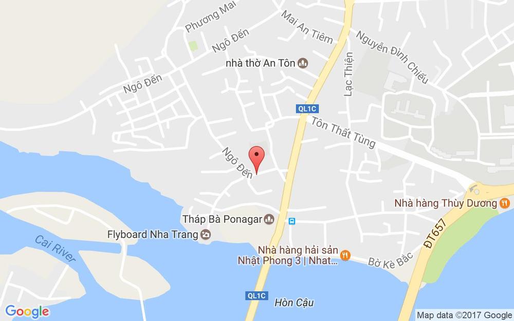 Vị trí bản đồ 27 Ngô Đến, P. Vĩnh Phước Tp. Nha Trang Khánh Hoà