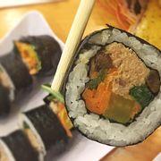 Gimbap cá ngừ - tuna mayonaise