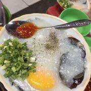Cháo sườn bà Hào ( tô thập cẩm có trứng )