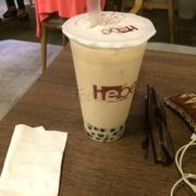 Trà sữa trà xanh trân châu ly lớn