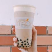 Trà sữa trà đen trân châu  kem sữa