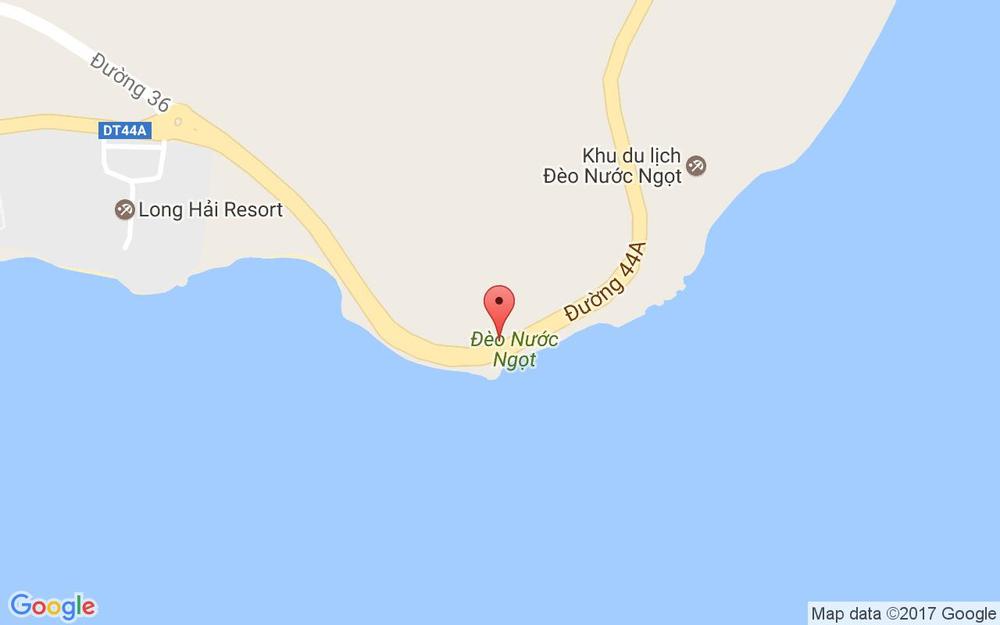 Vị trí bản đồ Đèo Nước Ngọt ở Vũng Tàu