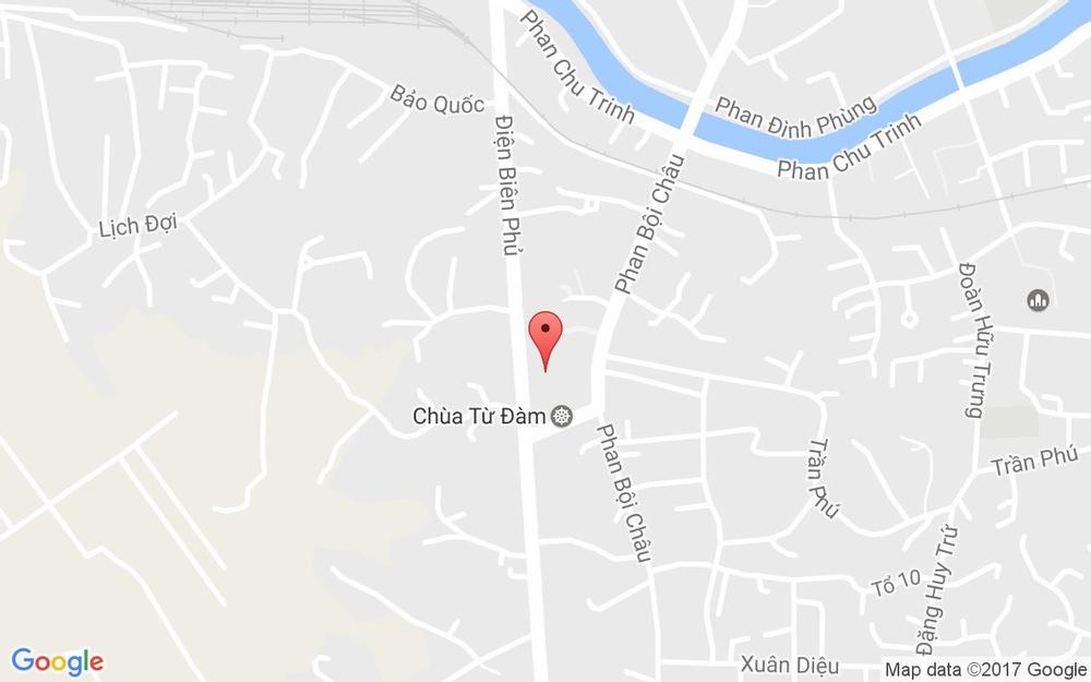 Vị trí bản đồ Chùa Từ Đàm - Sư Liễu Quán ở Huế