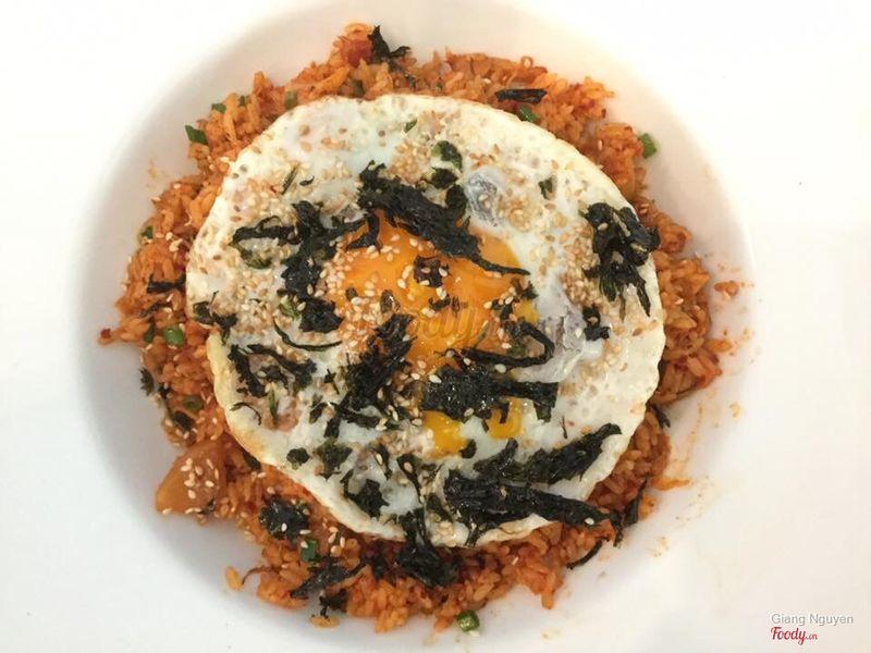 Cơm rang kim chi/Kimchi bokkeumbap