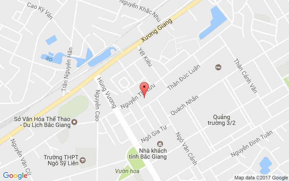 Vị trí bản đồ 24 Ngõ 50 Nguyễn Thị Lưu, P. Ngô Quyền Tp. Bắc Giang Bắc Giang