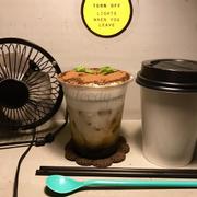 Tiramisu coffee 50k & hot coffee latte 50k