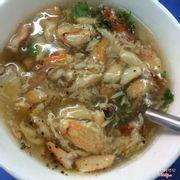 soup cua gì mà quá trời cua, giá hơi mắc vì chén hơi nhỏ :)))) ăn mau hết vì khá ngon