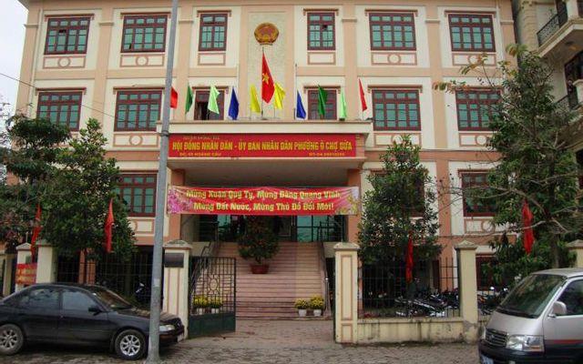 UBND Phường Ô Chợ Dừa