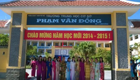Trường THCS Phạm Văn Đồng