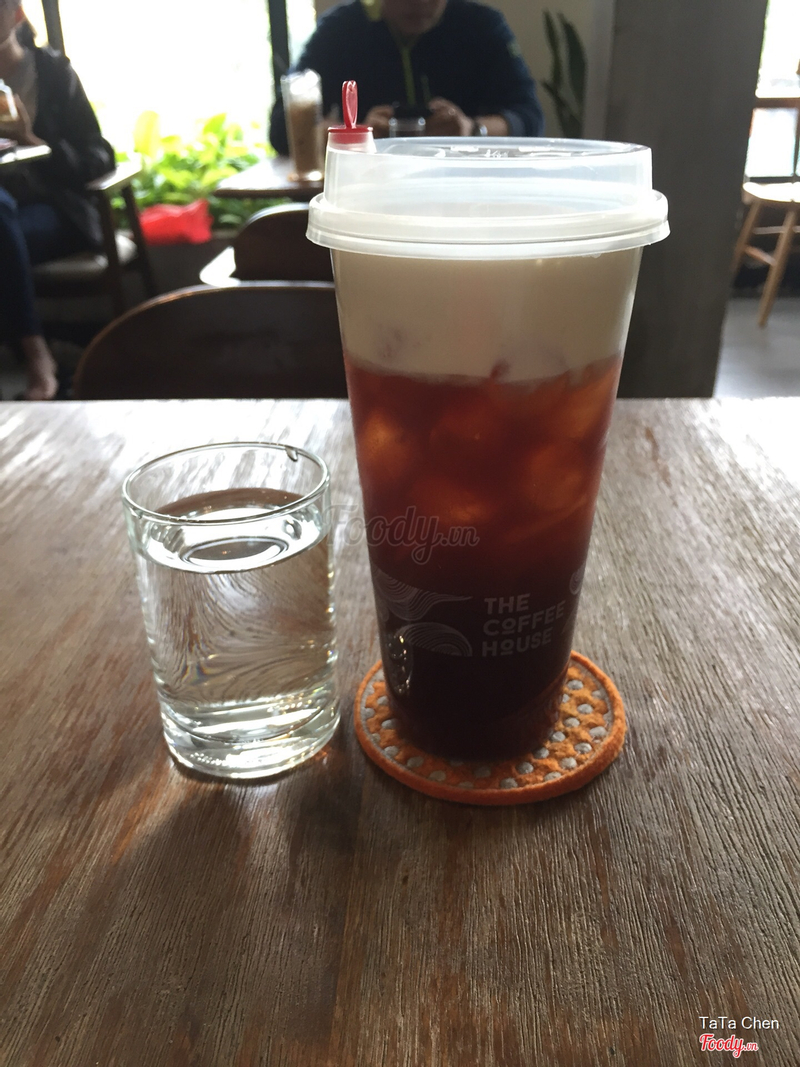 Black Tea Macchiato