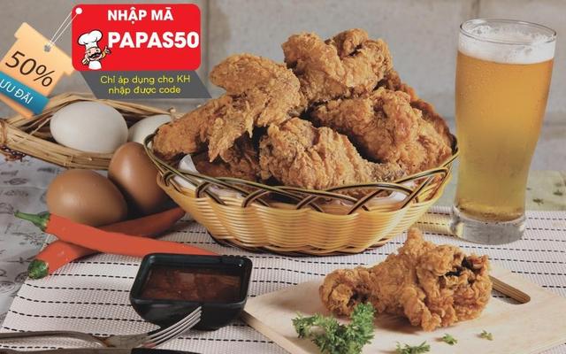 Papas' Chicken - Gà Rán Hàn Quốc - Cách Mạng Tháng 8