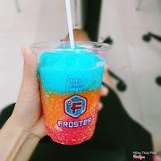 Đá bào + đường + siro màu mè  Froster sz nhỏ 😂😂😂