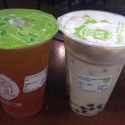 Trà xanh bưởi, trà sữa xanh oolong
