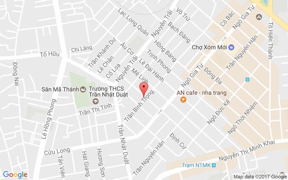 Vị trí bản đồ 34 Nguyễn Hữu Huân Tp. Nha Trang Khánh Hoà