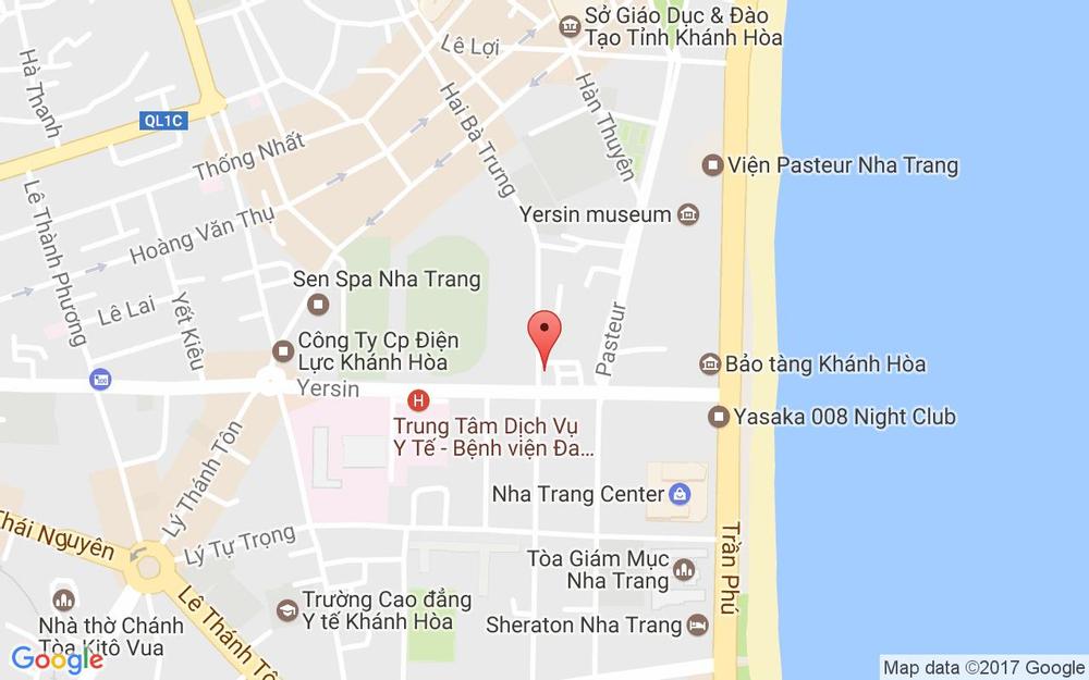 Vị trí bản đồ 7G Hoàng Hoa Thám Tp. Nha Trang Khánh Hoà