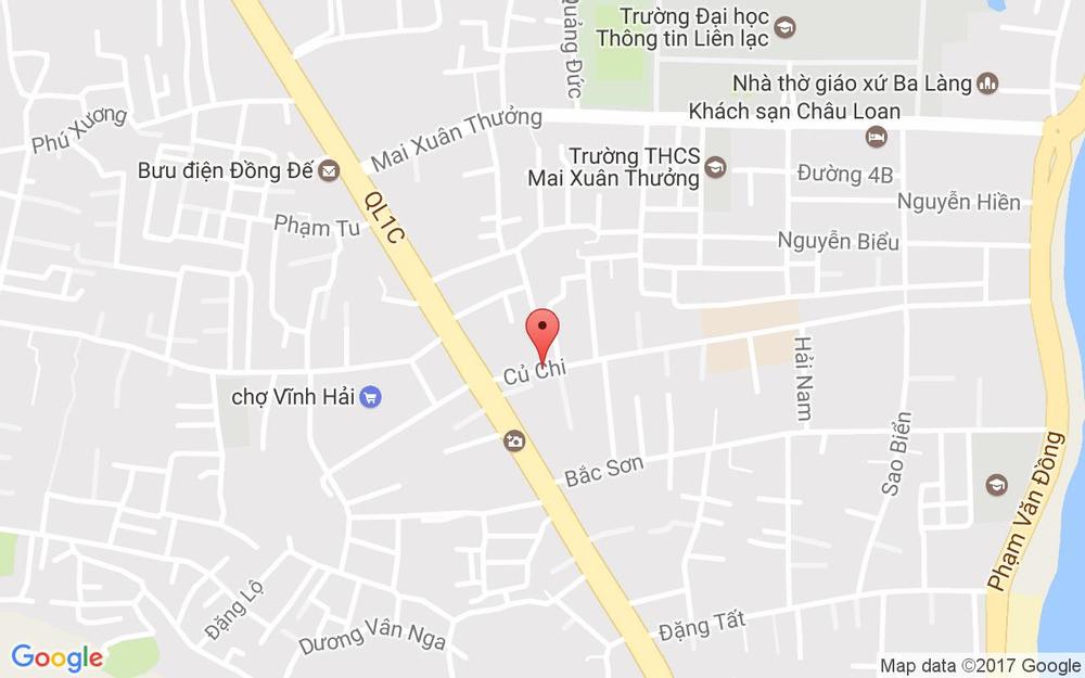 Vị trí bản đồ 2A Củ Chi Tp. Nha Trang Khánh Hoà