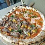 Half - Half Pizza (Teriyaki Beef - Salmon)