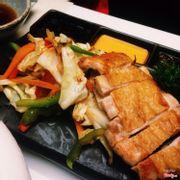 salad gà teriyaki