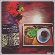 """Đây là ly """"cafe mojitor"""" theo tên gọi của mình đặt riêng. Vì quên tên nó rồi :)"""