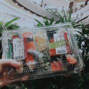 sushi ở aeon mall ngon lắm lại còn rẻ nữa :)))