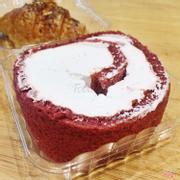 Red velvet roll cake