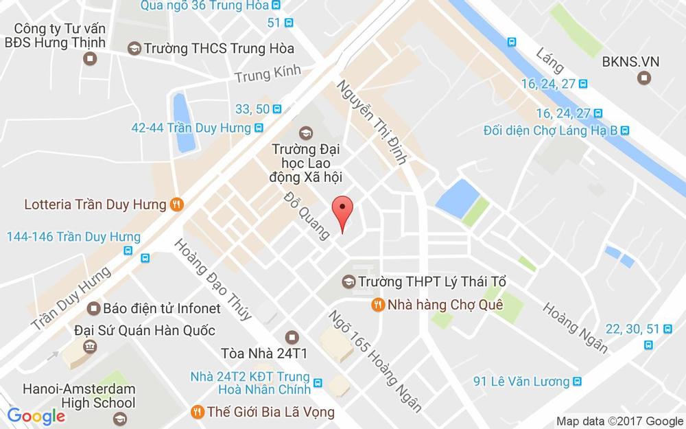 Vị trí bản đồ Excellence Spa - Đỗ Quang ở Hà Nội