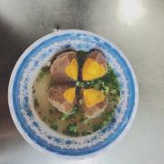 Bò viên phô mai trứng muối