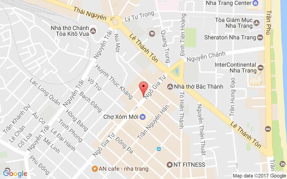 Vị trí bản đồ 35 Ngô Gia Tự Tp. Nha Trang Khánh Hoà
