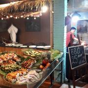 Nhà hàng Một Nắng ở khu ẩm thực Bờ kè Mũi Né