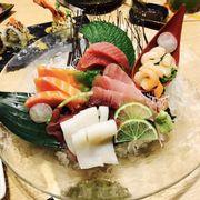 Sashimi cá tươi nên ăn rất ngon