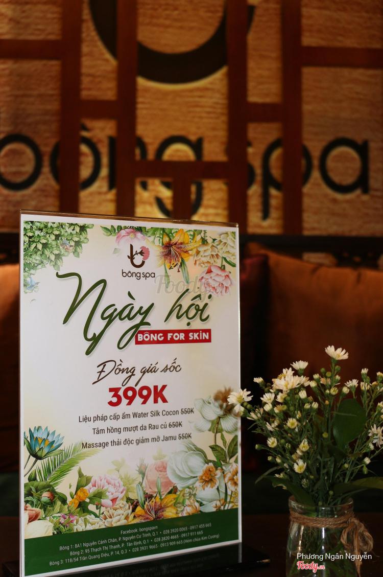 Bông Spa - Nguyễn Cảnh Chân ở TP. HCM
