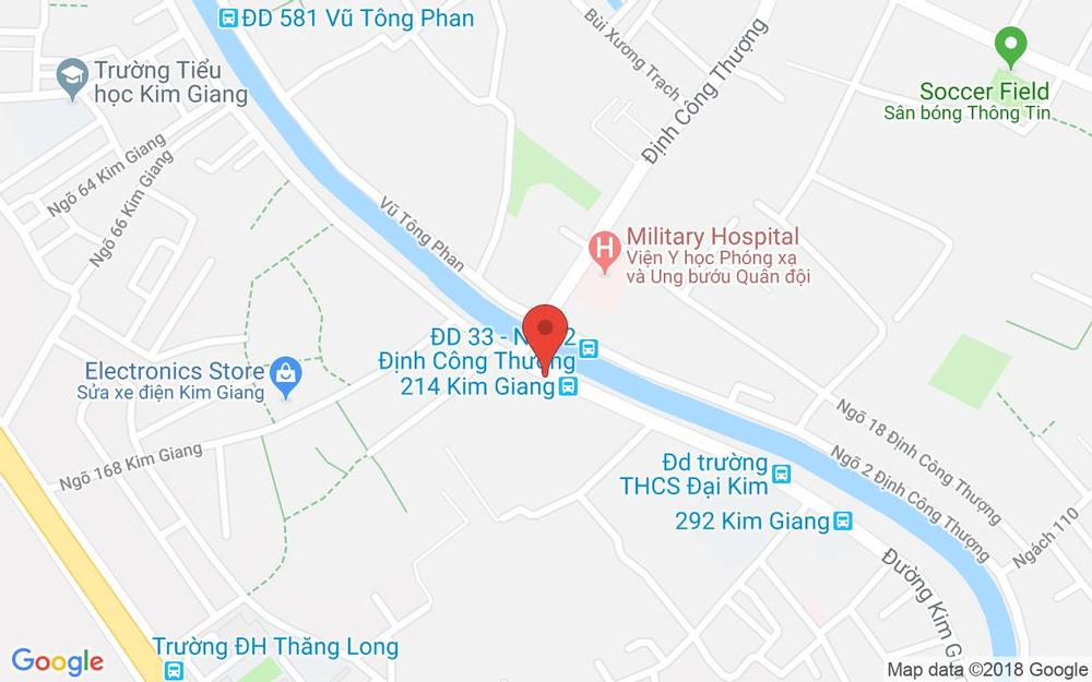 Vị trí bản đồ 230 Thượng Đình Quận Thanh Xuân Hà Nội