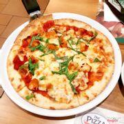 Pizza đế mỏng vị gà
