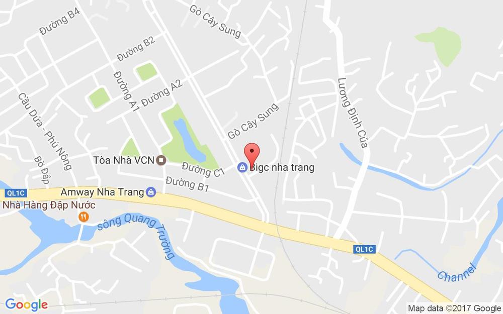 Vị trí bản đồ Big C Nha Trang, Đường 19 Tháng 5, Vĩnh Điềm Trung, Xã Vĩnh Hiệp Tp. Nha Trang Khánh Hoà
