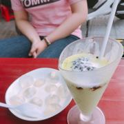 yaua trà xanh nếp cẩm + thạch phô mai