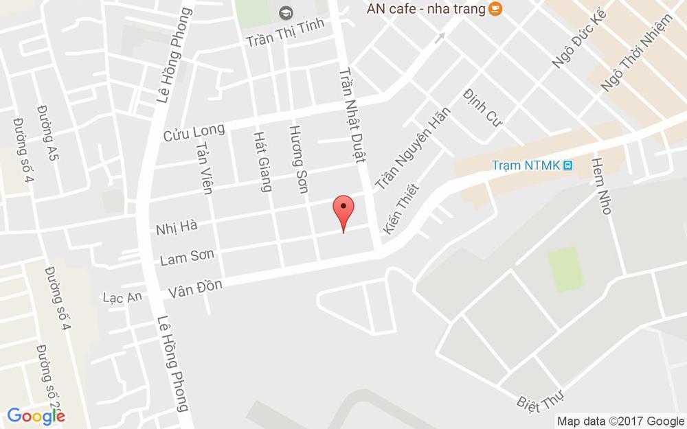 Vị trí bản đồ 5 Lam Sơn Tp. Nha Trang Khánh Hoà