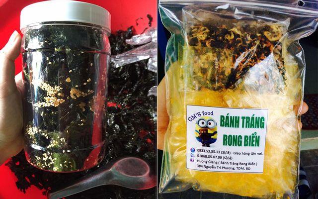 GM's Food - Bánh Tráng & Rong Biển