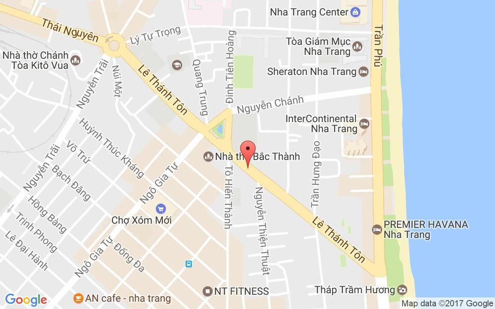 Vị trí bản đồ Hẻm 114/1 Ba Làng Tp. Nha Trang Khánh Hoà