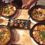 Mì bò kim chi, mì hải sản, takoyaki