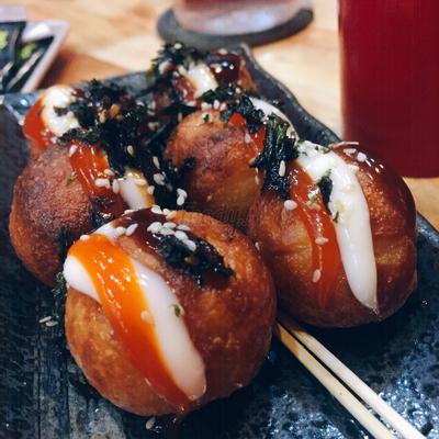 Món Bánh Bạch Tuộc - Takoyaki