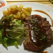 Beefstaek sốt BBQ
