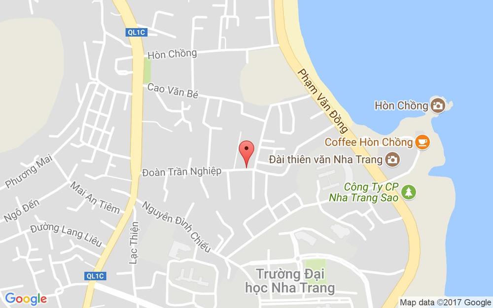 Vị trí bản đồ 30/23 Đoàn Trần Nghiệp Tp. Nha Trang Khánh Hoà