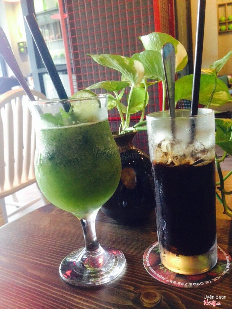 Chanh tuyết & cafe đen đá