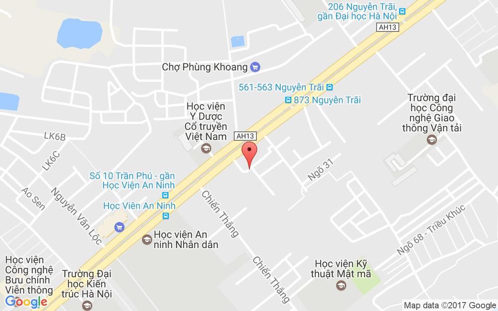 Vị trí bản đồ Đối Diện Cổng Đại Học Sư Phạm Nhạc Họa Trung Ương, Nguyễn Trãi Quận Thanh Xuân Hà Nội