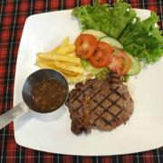 Phần Steak km giá 1$
