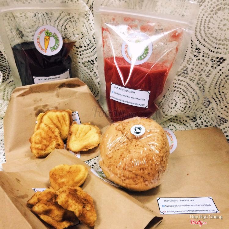 The Carrot - Burger & Nước Hoa Quả - Shop Online ở Hà Nội