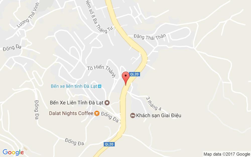 Vị trí bản đồ Tiệm Cơm Như Ý ở Lâm Đồng