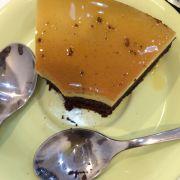 Bánh flan brownie